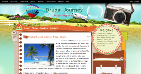 Drupal Summer Holidays