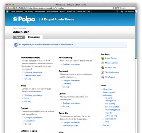 Polpo Admin Theme